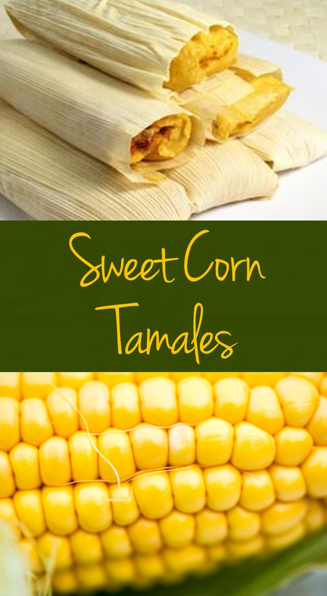 Sweeten your tamales with bright, yellow corn.
