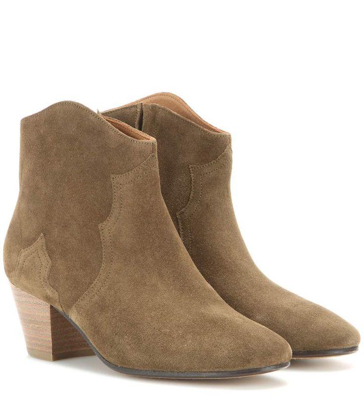 mytheresa.com - ÉTOILE – Bottines en daim Dicker - Luxe et Mode pour femme - Vêtements, chaussures et sacs de créateurs internationaux