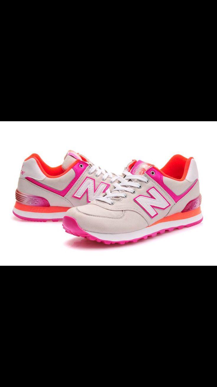 New Balance Alpine Grey with Pink Orange Women Shoes,New Balance 574 Women,New  Balance 574 Alpine,new balance wide shoes