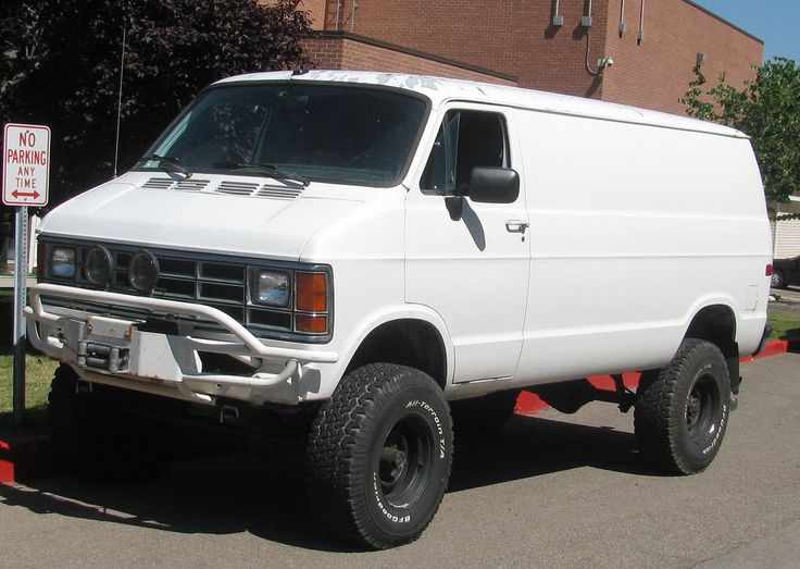4x4 Dodge Van #souzalove #car #souza_love