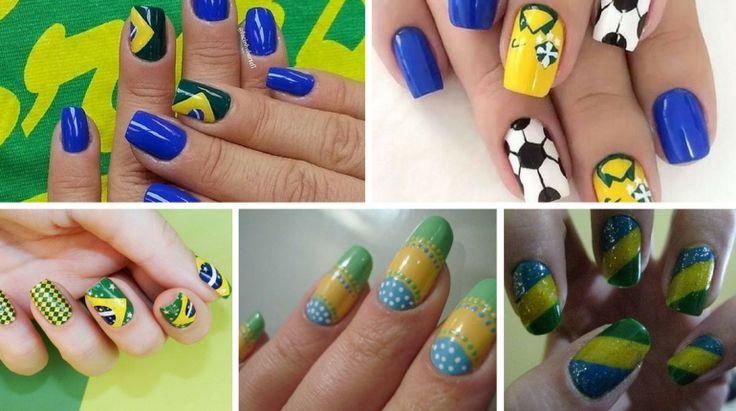 10+ Unhas Decoradas do Brasil