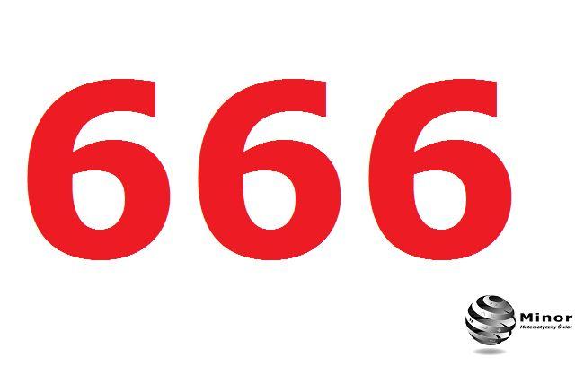 Number 666. Własności liczby 666.