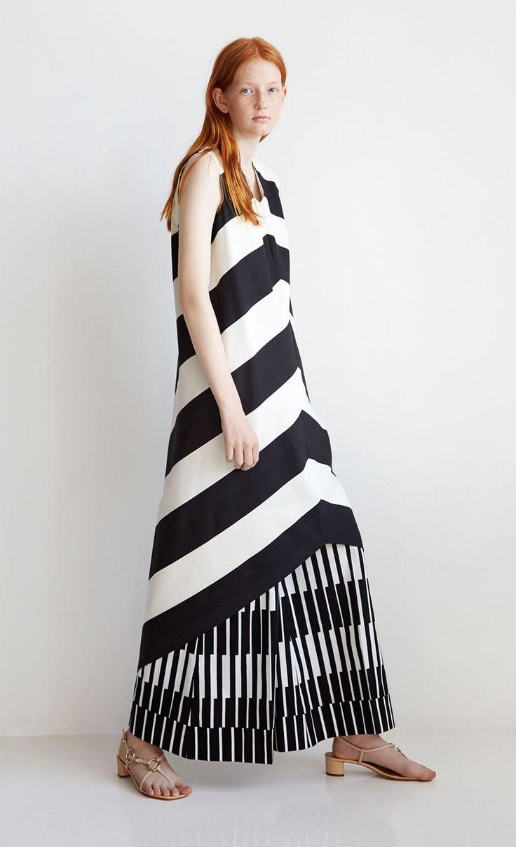 Linjaviitta dress, Marimekko archive
