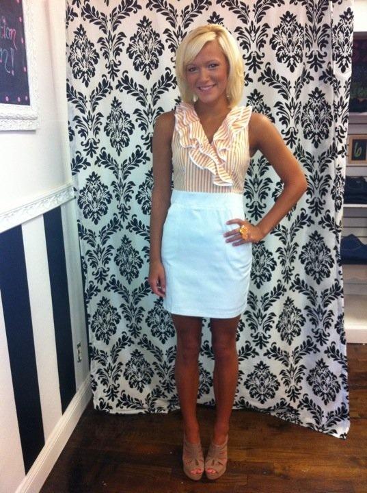 Clemson/Tennessee dressFemale Style, Clemson Gameday, Football, Closets, Clothing Clothing, Clemson Tennessee Dresses, Clemson Tigers, Gameday Dresses, Clemson Dresses