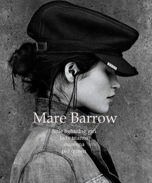 Mare Barrow Little lighting girl Lady Titanos  Mareena Red queen
