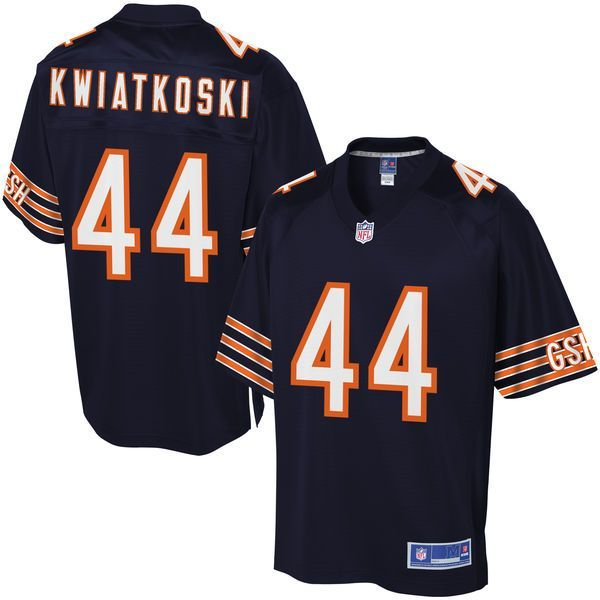 Nick Kwiatkoski Chicago Bears NFL Pro Line Youth Player Jersey - Navy - $74.99