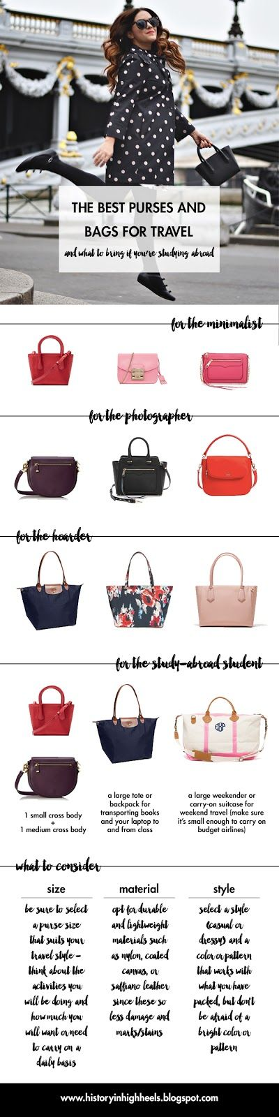History In High Heels: The Best Purses for Travel and Studying Abroad