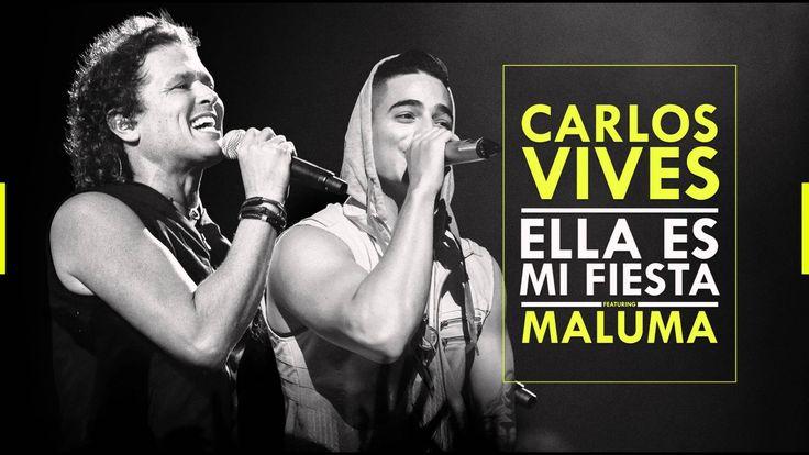 CARLOS VIVES FEAT MALUMA - ELLA ES MI FIESTA