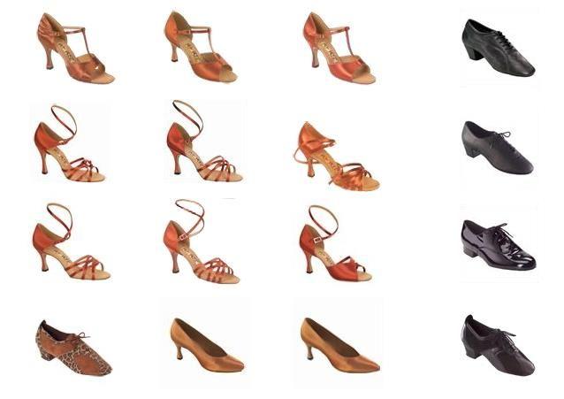 Обувь для тренировок латино