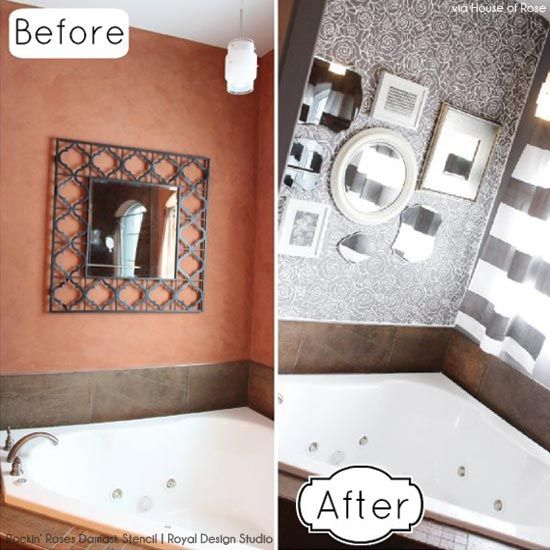 81 best before and after: stencils images on pinterest