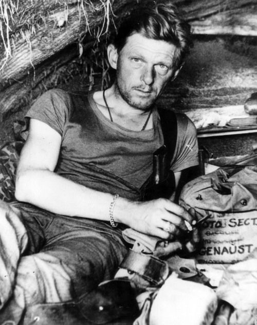 """William H. """"Bill"""" Genaust, USMC, war photographer who is most famous for capturing the Flag Raising on Iwo Jima. Killed in action  March 4, 1945."""
