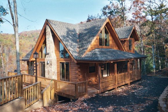 363 best cute cabins images on pinterest arquitetura for Best mountain view cabins in gatlinburg tn