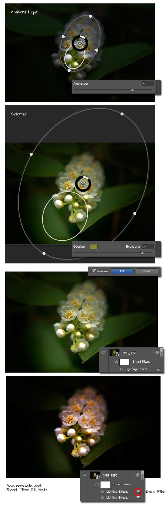 Improved Lighting Effects in CS6