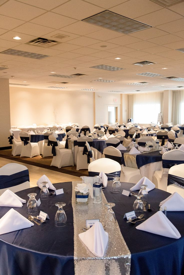 Reception in our Islandview Ballroom.  Photo taken by Niche Photography