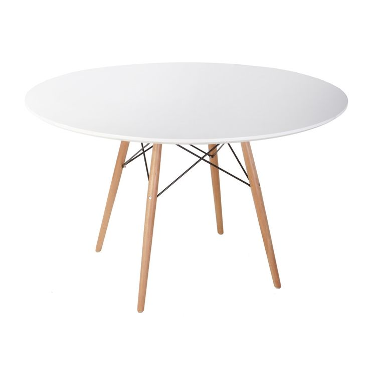 Matt Blatt - Replica Eames DSW Dining Table - Large by Charles and Ray Eames $495