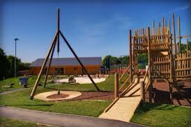 An adventure playground to stimulate children