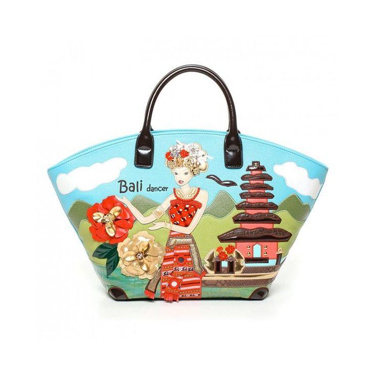 Borsa Braccialini Cartoline Bali http://lamaisonchic.biz/braccialini/2090-borsa-braccialini-cartoline-bali-due-manici.html