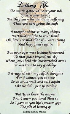 poems of loss through cancer - Google Search