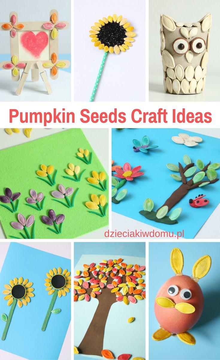 pumpkin seeds craft ideas