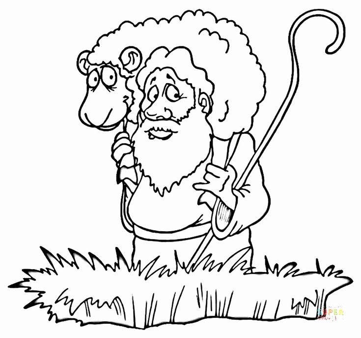 32 the Good Shepherd Coloring Page in 2020 | Coloring ...