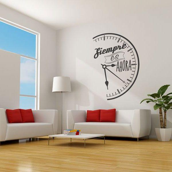 http://www.decomura.es/vinilos-decorativos-frases-decorativas/siempre-es-ahora-488#/superficie-3000