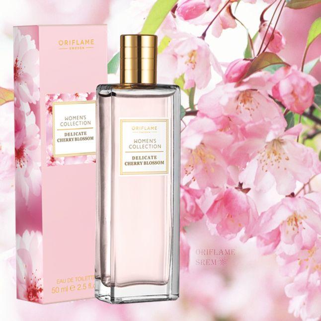 32440-Women's Collection Delicate Cherry Blossom toaletna voda koja će vas odvesti do veličanstvenog voćnjaka ispunjenog laticama cvjetova trešnje.