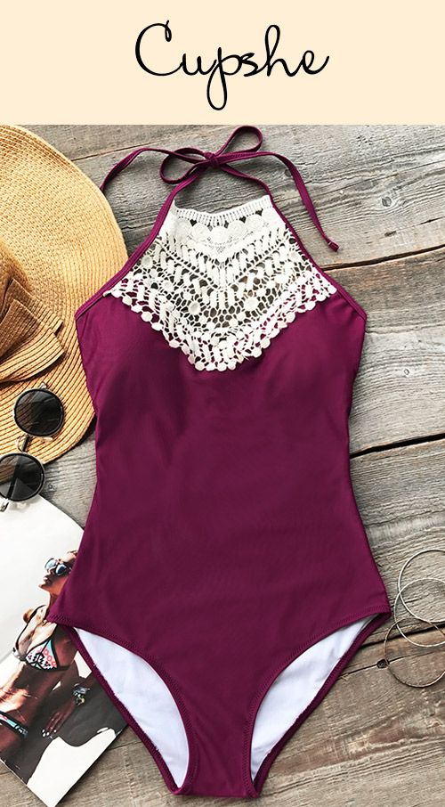 Treat Yourself to Something Special. Wine with more charm. Cuter back tie and halter design with more comfort. It can be your perfect beach partner. Check it out now.