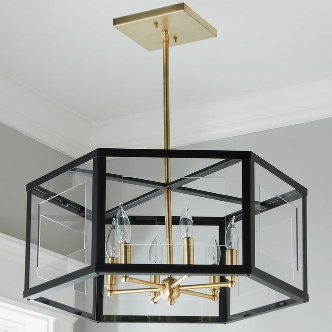 City Chic Chandelier 6 Light Traditional Dining Rooms Gold