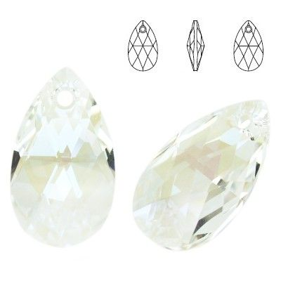 6106 Pear-shaped 28mm Moonlight  Dimensions: height - 28,0mm Colour: Crystal Moonlight 1 package = 1 piece