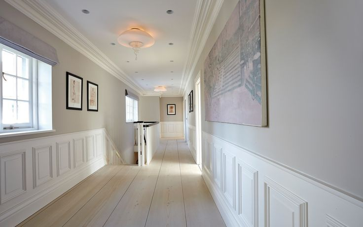 Hal met houten vloer grenen - Martijn de Wit Vloeren