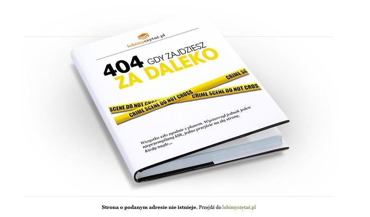 Mała rzecz, a cieszy. Błąd 404 wg lubimyczytac.pl #książki