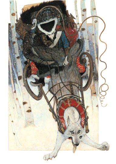 Munchaousen 3, painting by Svetlin Vassilev. Image #221837: