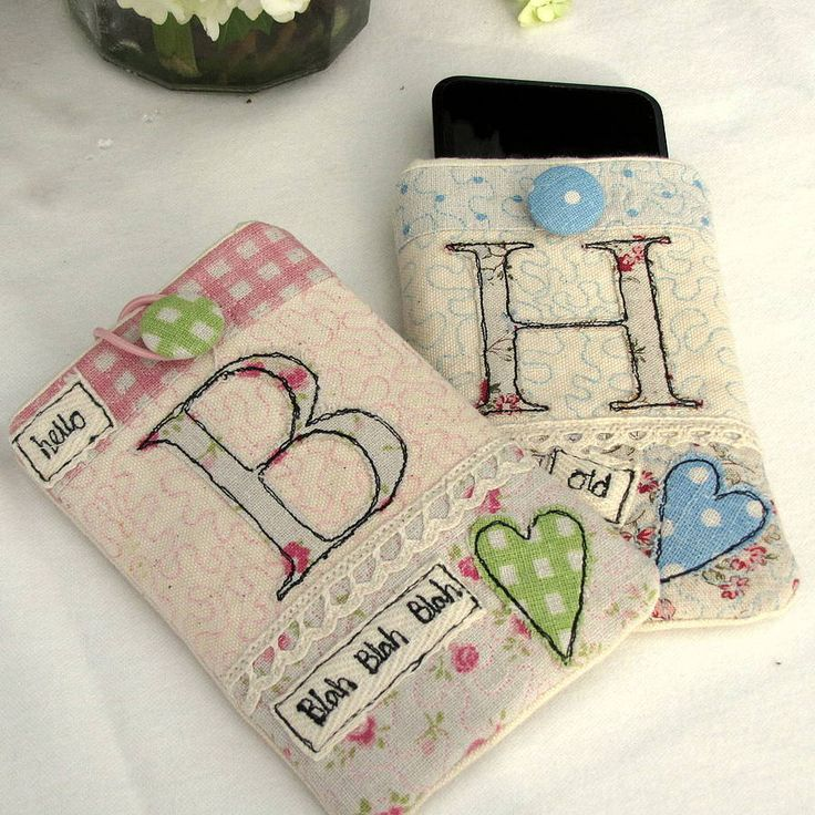 personalised phone cover - vintage inspired by sew very english | notonthehighstreet.com