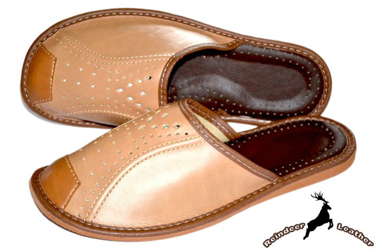 Mens Chocolate Clog Slippers