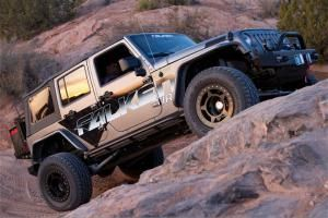 What happens when you take many of the OE JK parts that are inexpensive and install them onto a 1996 Jeep Cherokee XJ?  You get a nice one-of-a-kind Cherokee with a unique transplant.  Check out Chris Faustmann's Cherokee in the July 2012 issue of 4 Wheel Drive Magazine