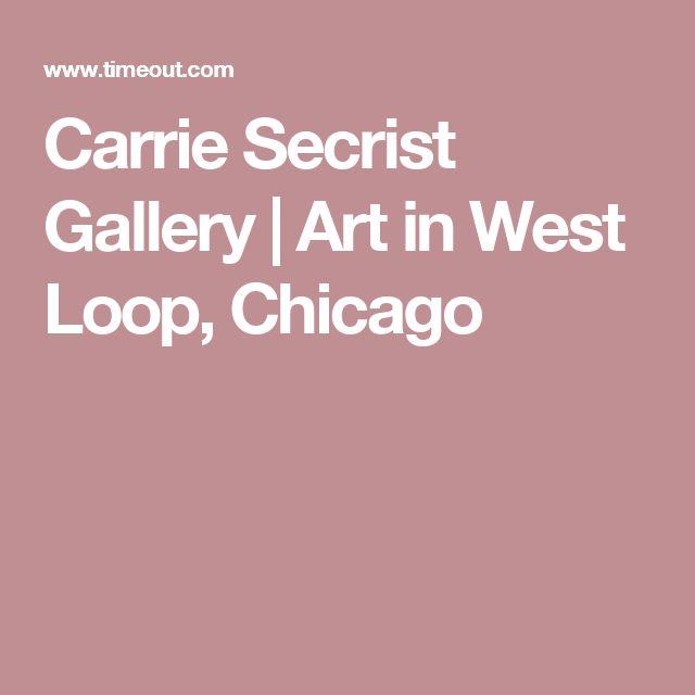 Carrie Secrist Gallery | Art in West Loop, Chicago