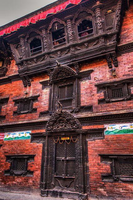 Kumari chhe ( The home that Living Goddess Kumari lives)Kathmandu, Nepal