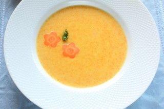 Velouté aux #carottes #recettesduqc #soupe #potage