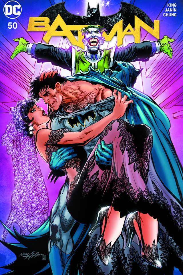 DC Comics BATMAN #50 first printing Arthur Adams variant
