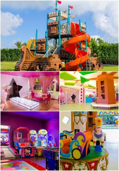 Kids Club at Moon Palace! #cancun