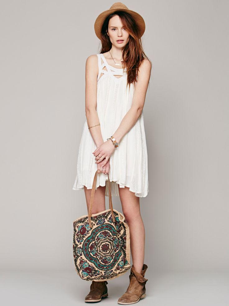 Paisley Vine Dress at Free People