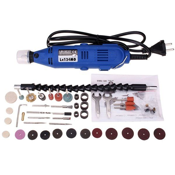 220V 180W Electric Rotary Tool Mini Drill with 40pcs Power Tools Sale - Banggood Mobile
