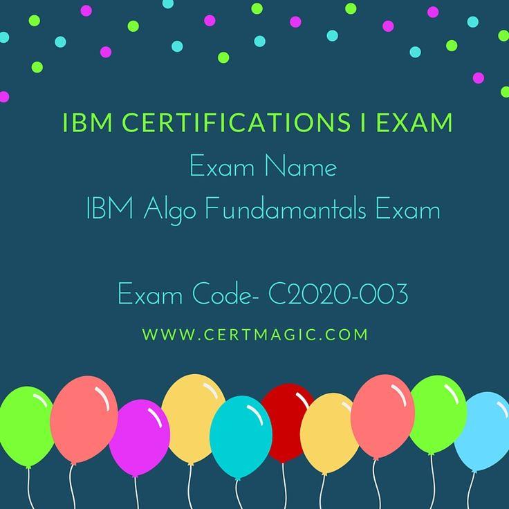 7 Best Ibm Certifications I Exam Images On Pinterest Ibm Ibm