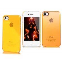 Carcasa iPhone 4 4S Puro - Fluo Cristal Naranja  $ 109,51