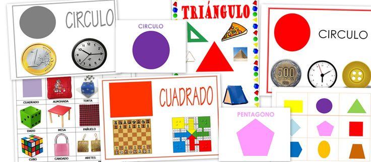 Recursos para el aula: Formas y figuras geométricas