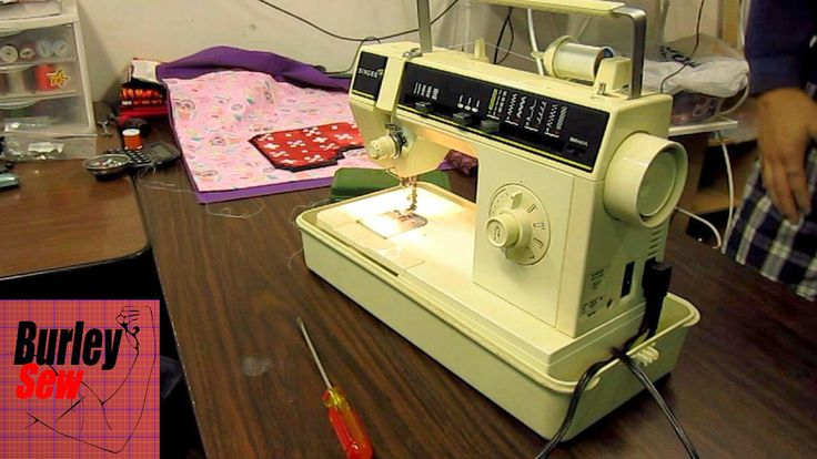 how to fix the tension on my overlocker