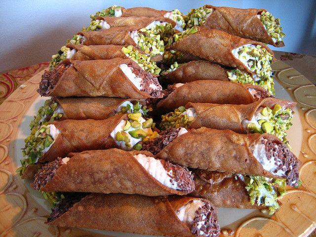Gluten Free Birthday Cannoli | Gluten Free Options | Pinterest