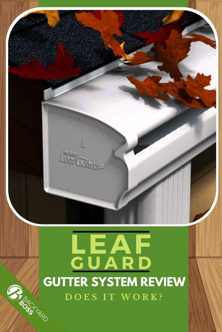 Leafguard Gutter System Review Does It Work Gutter Leaf Guard Gutter Guard