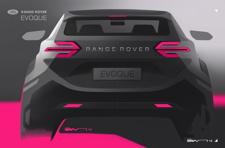 Gashetka | Transportation Design | 2014 | Range Rover Evoque | Exterior Design by...