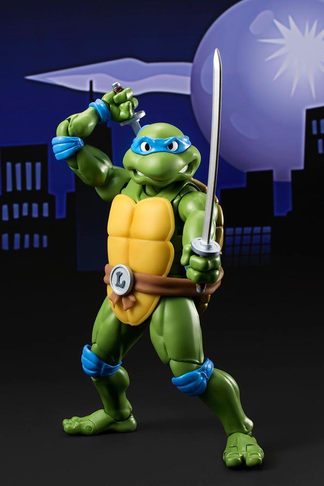 Figurine Tortues Ninja TMNT Leonardo - 15 cm - Acheter vendre sur Référence Gaming